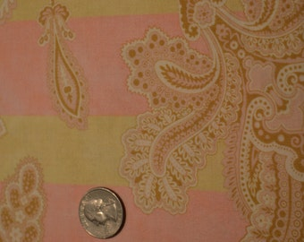 South Sea Imports fabric Beige Flowers by Robyn Pandolph