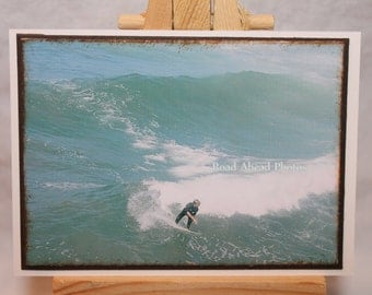 ACEO, ATC, Artist Trading Card, Surfer, photograph