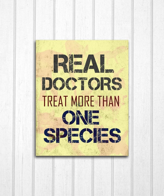 real doctors veterinarians print by mayagracedesigns on etsy