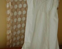 Vintage white full slip Vintage undergarment Vintage lingerie