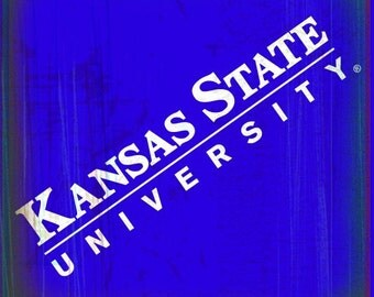 K-State Coaster Collection: KSU on purple (KSU-11)