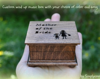 music box, wedding music box, wedding favor, mother of bride gift, mother of the bride gift, personalized gift, simplycoolgifts