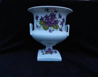 Wine Chiller, Centerpiece: Hand Decorated Porcelain