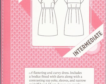 SALE -- Macaron dress pattern by Colette Patterns sizes 0-18 new