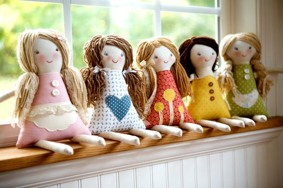 Custom Rag Doll, design your own rag doll, personalized rag doll, custom cloth doll