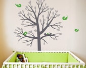 Large sticker tree life size Tree Wall decal | 150 x 190 cm // 59 x 75 inches |