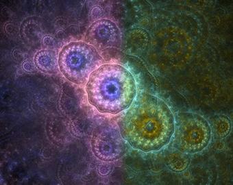 Path of Harmony - fractal artwork download, original home / interior decoration