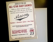 CUSTOM Order for Kristy - 75 printed invitations