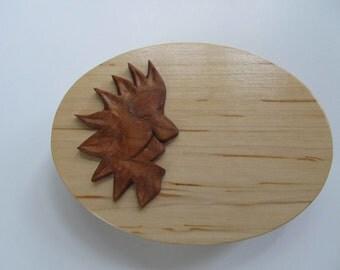 Wood Jewelry Box Gremlin Box Hand Made Birthday Kid's Jewelry Trinket Box Treasure Box Gift for Boy, For Him Fantasy