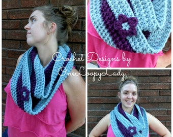 PATTERN ONLY - The Wrap Me Up Cowl - Crochet