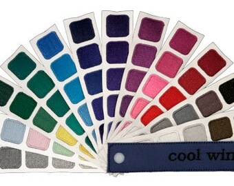 Color Harmony Swatch Book for Cool Winter