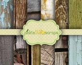 Woodshop Volume 2 - 12 Digital Scrapbook Papers - 12x12inch - Printable Backgrounds - Wood Textured - INSTANT DOWNLOAD
