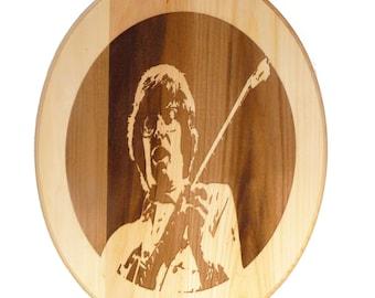 SALE / LIMITED TIME Handmade wood burned plaque