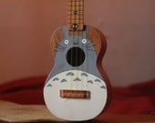 My Neighbor Totoro hand painted ukulele
