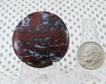 Brecciated Red Jasper from Rio Grande Texas
