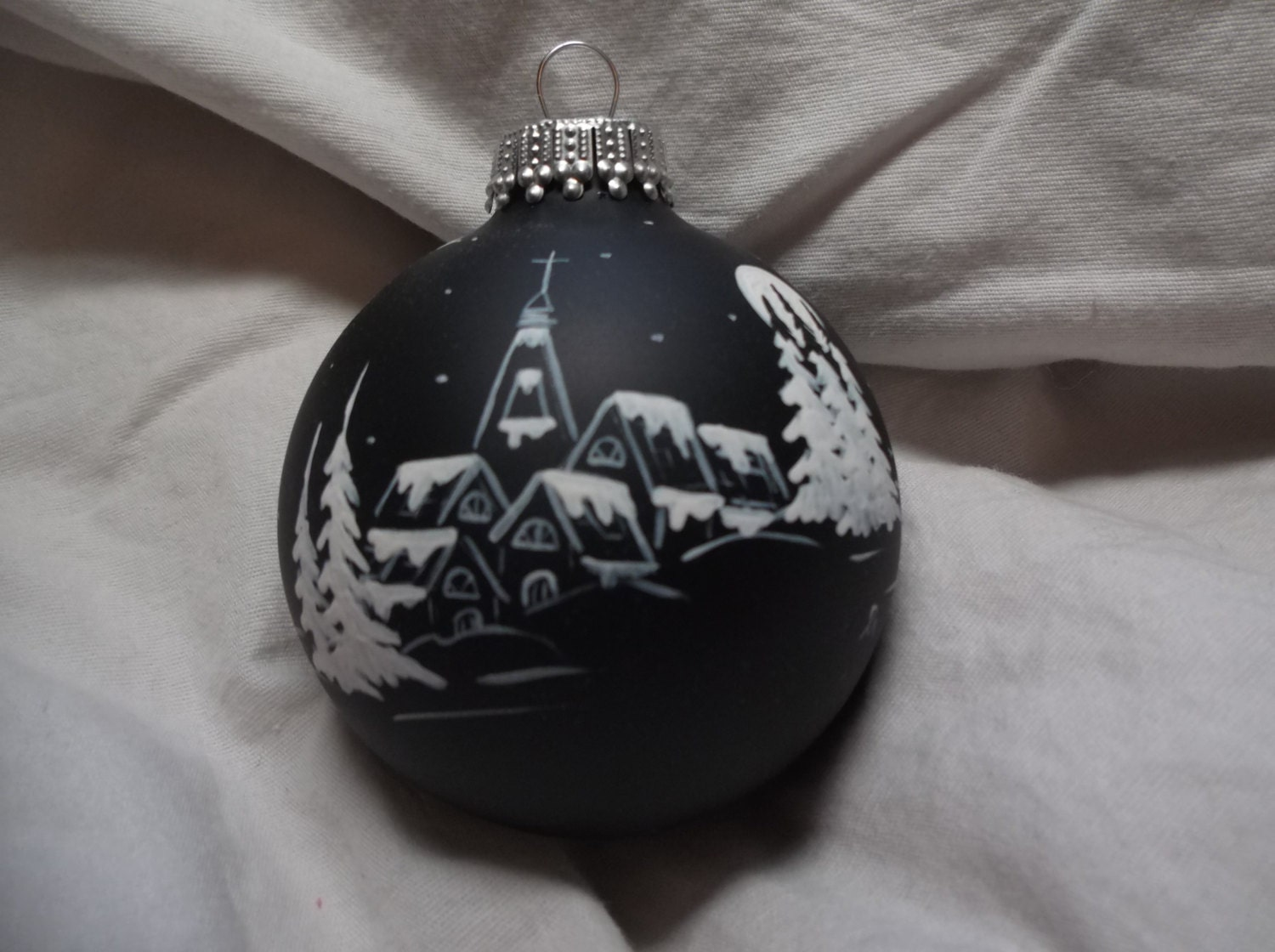 Hand Painted Christmas Ornaments German