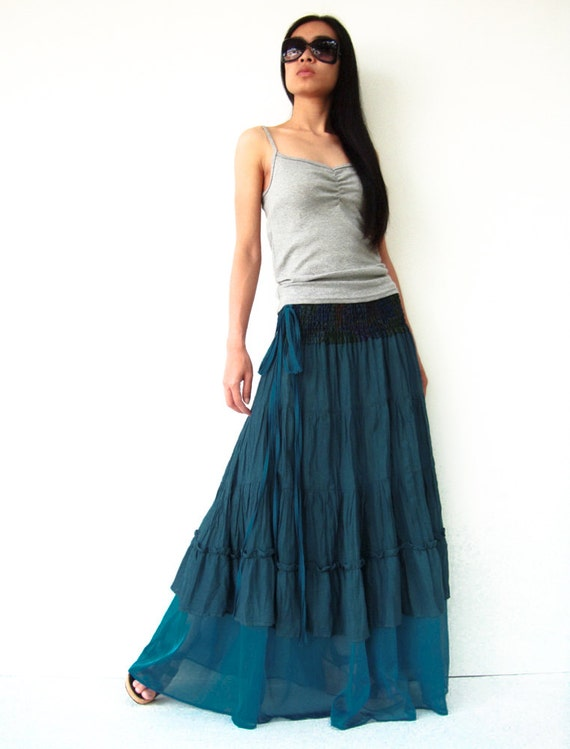 Maternity Peasant Skirt 97