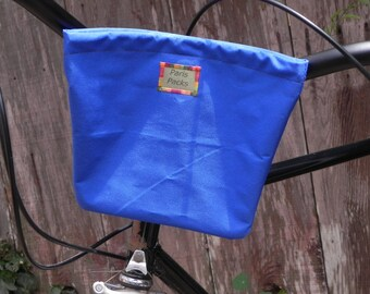 Small handlebar bag (royal blue) in stock and ready to ship