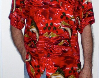 XL.ALOHA SHIRT   mens