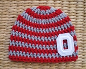 Ohio State Baby, Ohio State Baby Hat, Ohio State Hat, Ohio State Buckeyes, OSU Baby, Buckeye Baby, Ohio State Buckeyes Baby, Photo Props