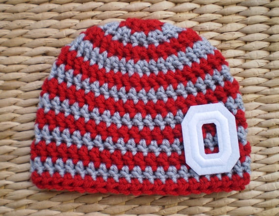 Ohio State Hat Ohio State Baby Ohio State By Sadiescottage