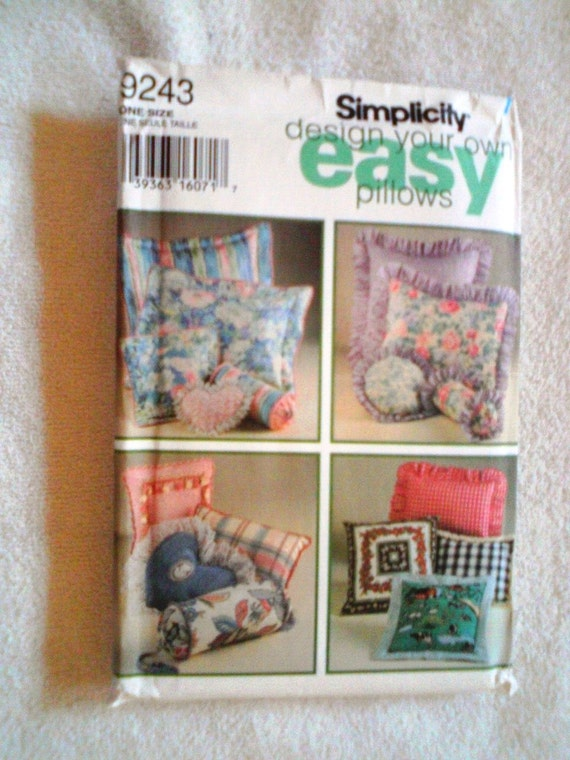 Https Www Etsy Com Listing 155711717 Uncut Simplicity Home Decor Sewing