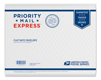 USPS Priority Express Shipping Upgrade Flat Rate Envelope