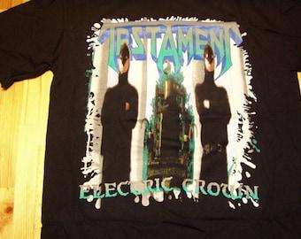 Testament The Ritual Tour T-Shirt 1992 - Dead Stock Licensed Tags Ritual Tour TShirt Testament Tour Shirt metal tour shirt