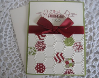 Handmade Greeting Card: Merry Christmas