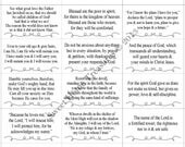 Set of 48 Verses on Worship & ENCOURAGEMENT, Printable Scripture Cards, Christian Bible Verses