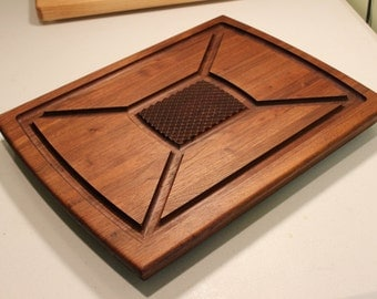 Walnut or Cherry Carving Board