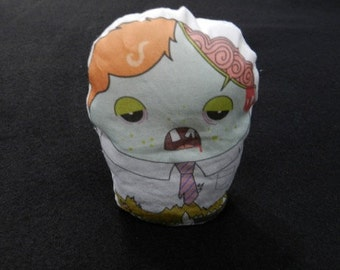 Child Little Boy Zombie Bean Bag Toy Doll