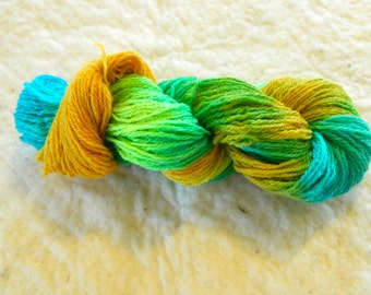 "3 Ply Sport weight yarn ""Moss Head"""