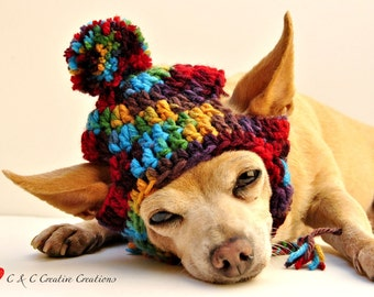 Folklore Dog Hat - Pet Hat - Cat Hat - All Sizes - Made To Order