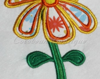 embroidery applique Flower