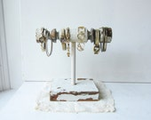 LAST ONE Bracelet Holder / Display - Architectural Salvage Spindle - Jewelry Storage - Recycled Wood (style 3) Ready to Ship
