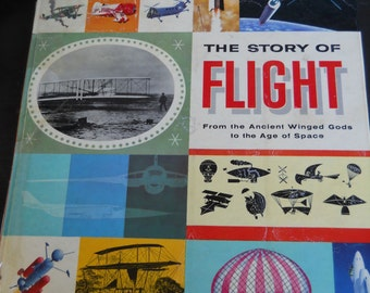 The Story of Flight - A Giant Golden Book c. 1959