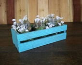 Wedding Center Piece , Decoritive Centerpiece, Wood Centerpiece, Wedding CrateCenter Piece,      Wood Crate, Rustic Center Piece