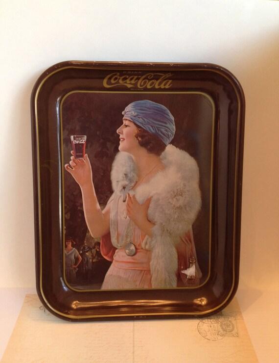 285 75 16 >> Coca Cola Tray Collectible Vintage Coca Cola Rectangle