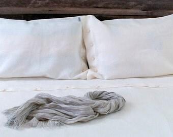 LINEN DUVET COVER - white duvet cover - queen duvet cover - king duvet cover - white queen bedding - king white duvet - stonewashed bedding