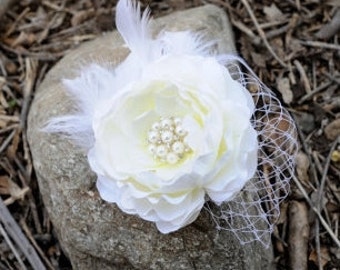 Wedding Hair Piece Bridal Hair Flowers
