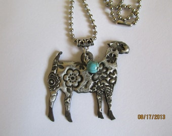 FFA 4H Show Goat jewelry necklace