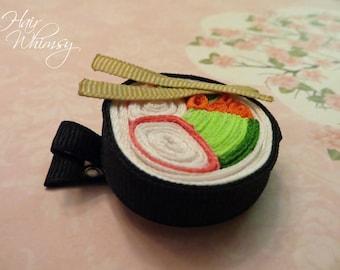 Sushi Hair Clip