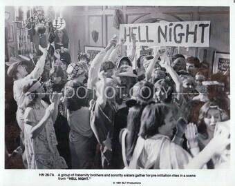 8x10 Press Photo Hell Night