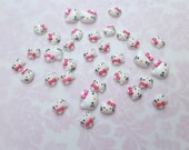 Tiny HK Cabochons for  Kawaii Decoration - Two Sizes