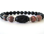 As Seen on The Vampire Diaries - Unisex Beaded Stretch Bracelet - Vampire Diaries Jewelry - TVD - Worn by Elena Gilbert on TVD - TVD59