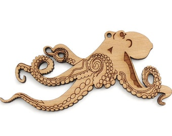 Octopus Ornament - Timber Green Woods Great Oceanic Collection