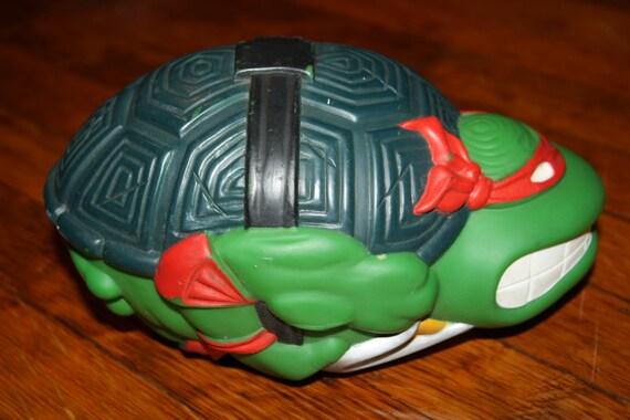 Vintage teenage mutant ninja turtles raphael sewer sports football