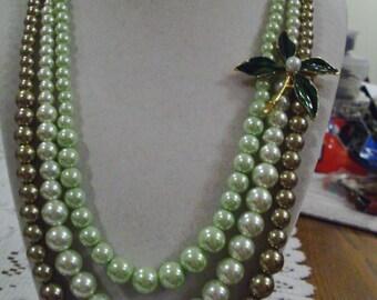 Tropical Wedding Necklace