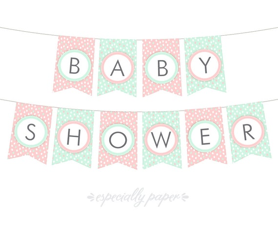 Crush image for printable baby shower banners